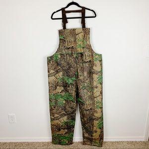 Stearns Dry Wear Camouflage Hunting Bibs Sz XXL